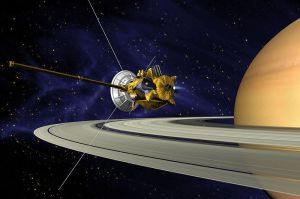 The Cassini-Huygens probe, the namesake of our Cassini search engine.