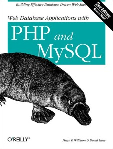 Web Database Applications with PHP and MySQL. My first book in its second English edition.